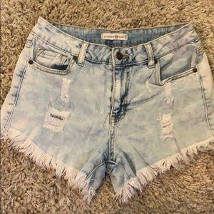Festival style Denim shorts